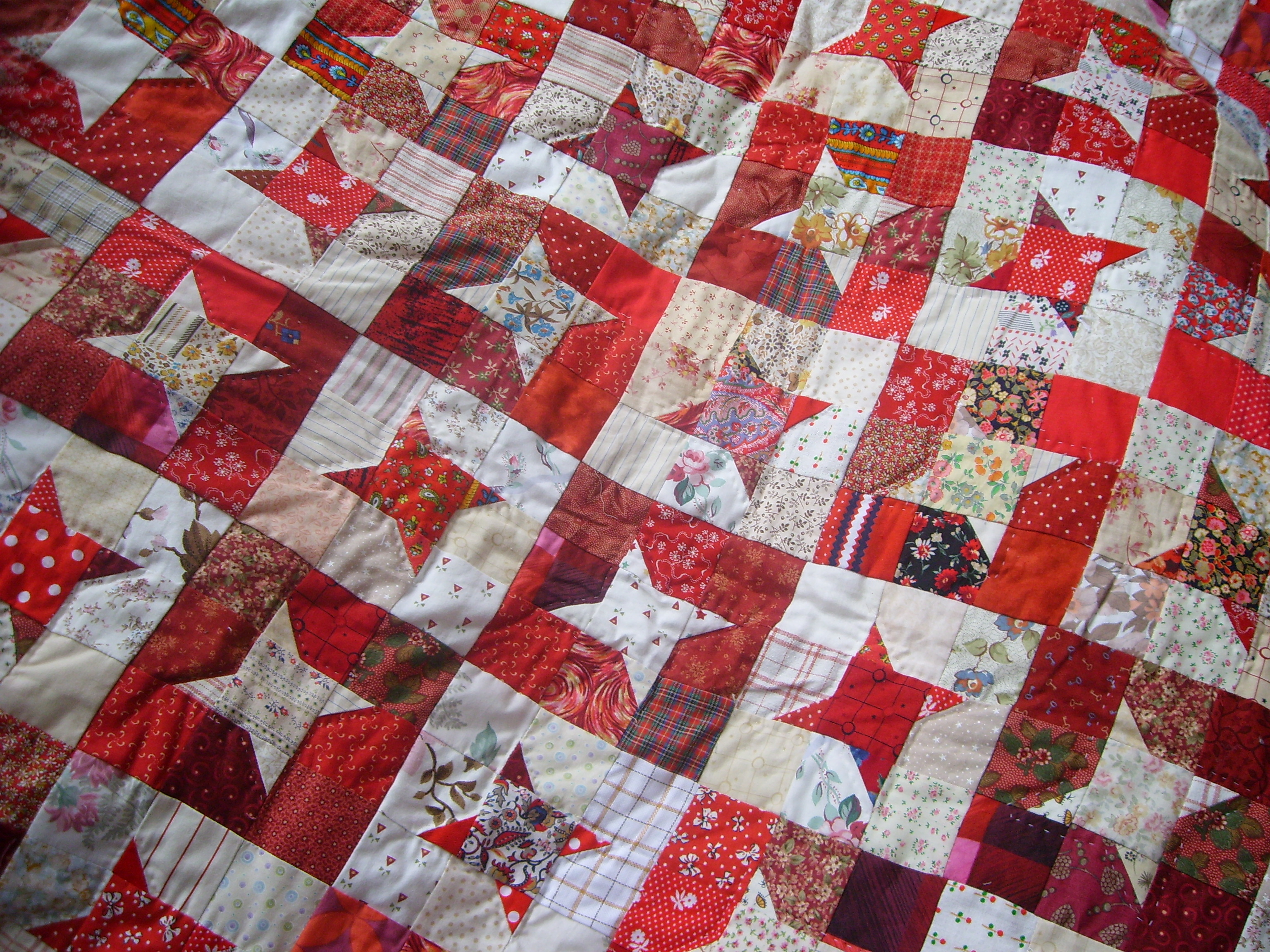 Red Nanny S Red Quilt Thatpatchworkprinciple